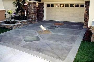 Concrete Driveway Site Concrete Art Carlsbad, CA