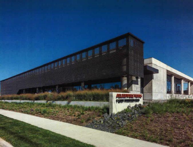 Concrete Office Building Site Adjustable Forms, Inc. Lombard, IL