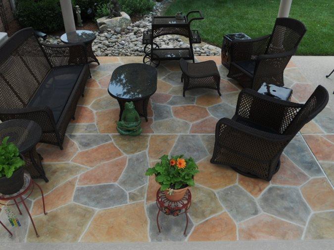 Concrete Patios Site Sundek Products USA, Inc. Arlington, TX