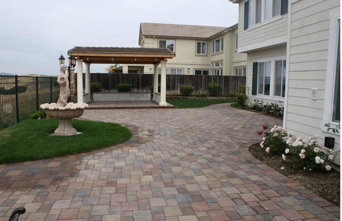 Concrete Paver Patio Site BR Landscapers, Concrete & Pavers Pleasanton, CA