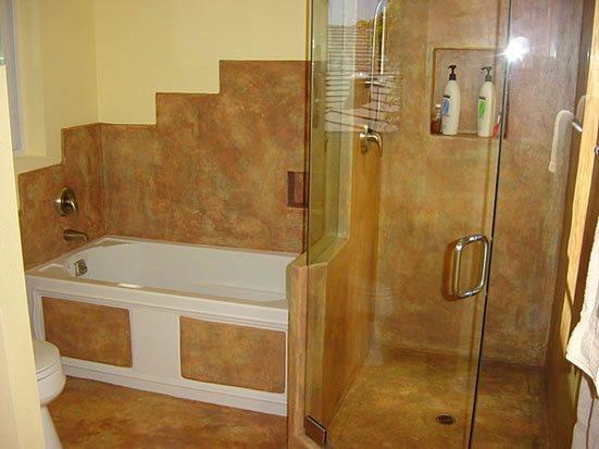 Concrete Shower Site ConcreteNetwork.com