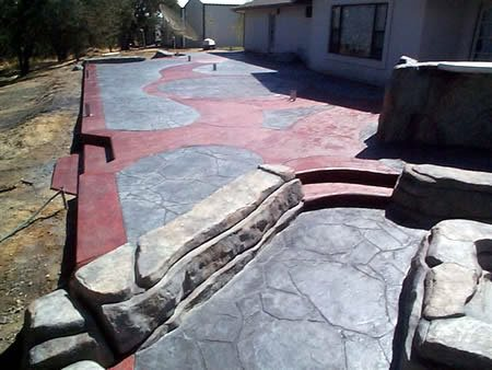 Concrete Work Site ConcreteNetwork.com ,