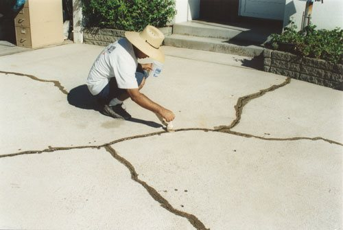 Crack Repair, Prime Cracks Site ConcreteNetwork.com
