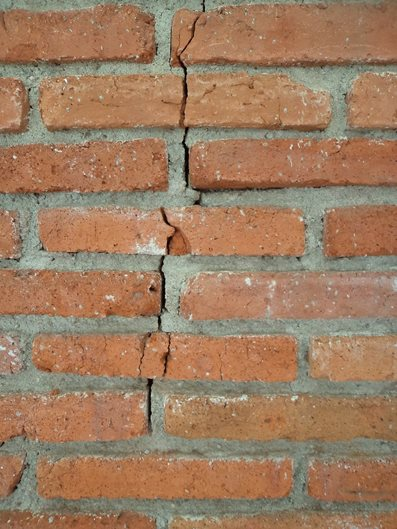 Cracked Brick, Exterior Brickwork Site ConcreteNetwork.com