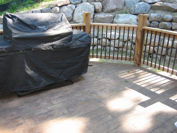 Deck Site Allstate Decorative Concrete Cokato, MN