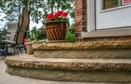 Decorative Steps Made Easy Site ConcreteNetwork.com