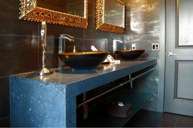 Double Vanity Site Cheng Design Berkeley, CA