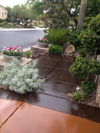 Driveway After Site Floor Seasons Inc Las Vegas, NV
