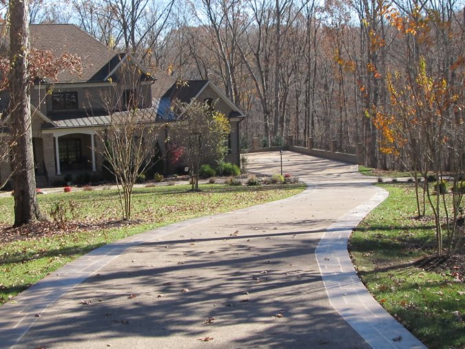 Driveway, Decorative Concrete Site Champney Concrete Finishing Lynchburg, VA