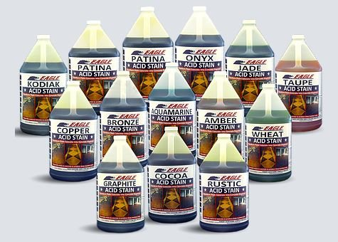 Eagle Acid Stain, Acid Stain, Concrete Stain Site Eagle Sealer Nashville, TN