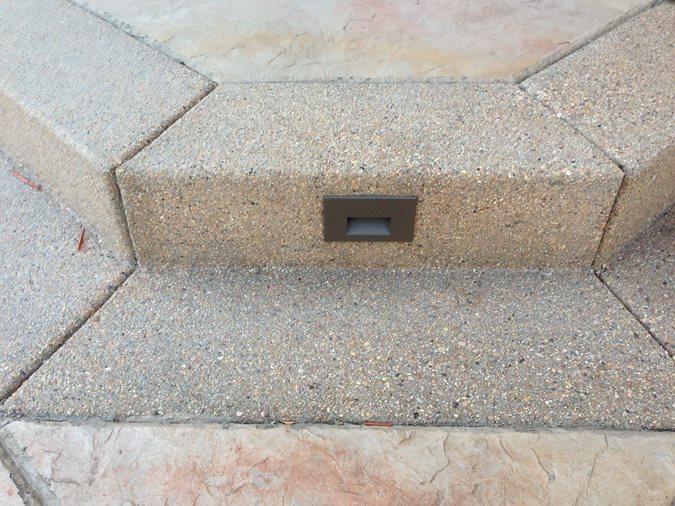 Exposed Aggregate Step Site Diehl Concrete Sedalia, CO