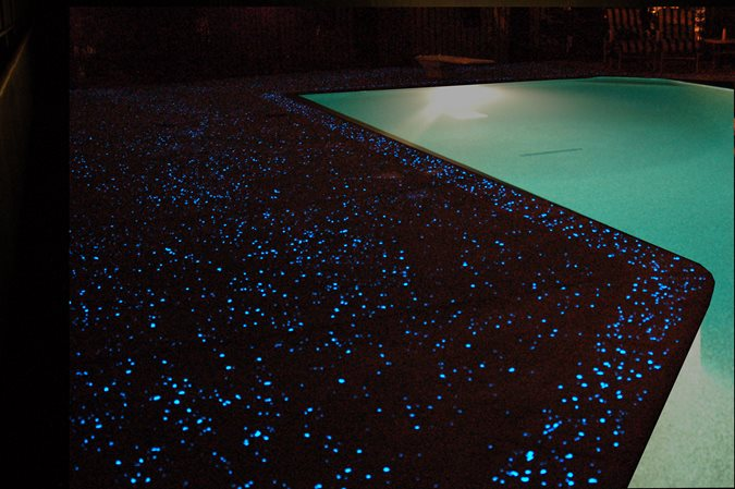 Glowing, Pool Deck Site Ambient Glow Technology Pickering, ON