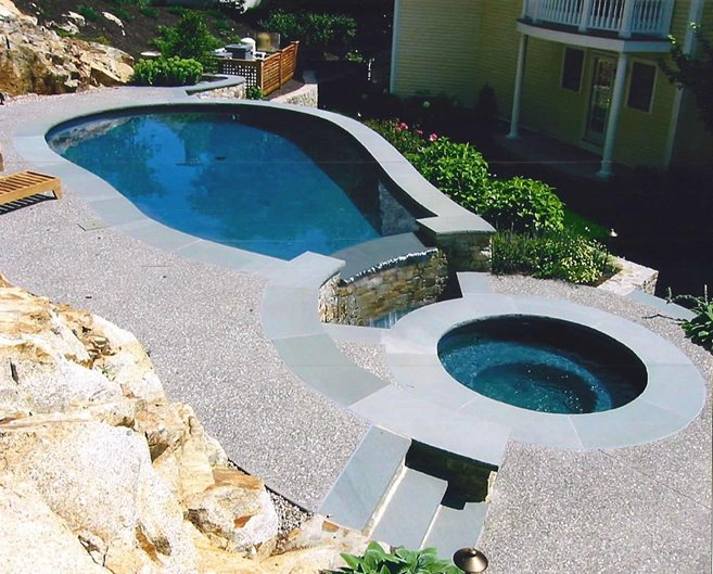 Grey, Aggregate Site New England Hardscapes Inc Acton, MA
