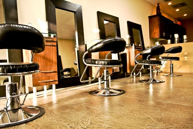 Hair Salon, Overlay, Brown Site Sundek of Washington Chantilly, VA