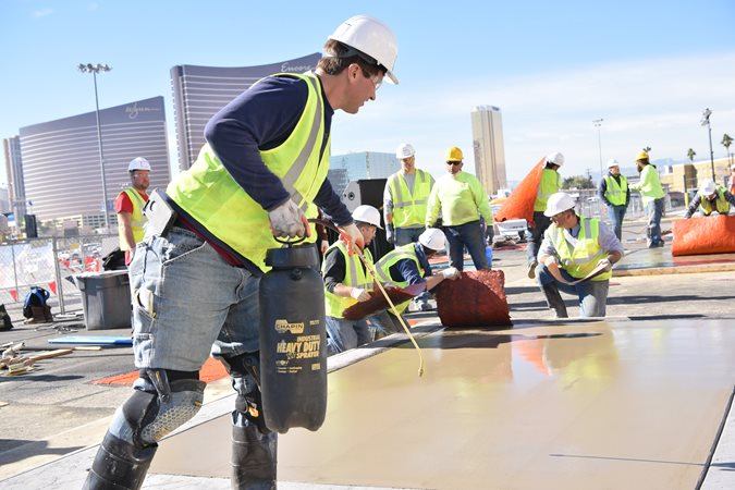 Hands On Training, Stamped Concrete, World Of Concrete Site World of Concrete