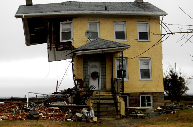 Home Destroyed After Sandy Site Concrete Homes Magazine Austin, TX
