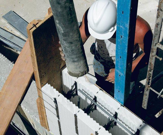 Icfs, Insulated Concrete Forms Site Concrete Decor Show