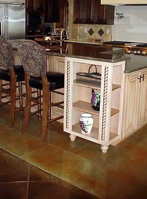 Kitchen, Tile Site Image-N-Concrete Designs Larkspur, CO