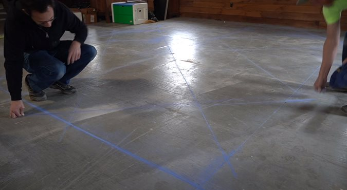 Laying Out Diamond Patterns Site ConcreteNetwork.com