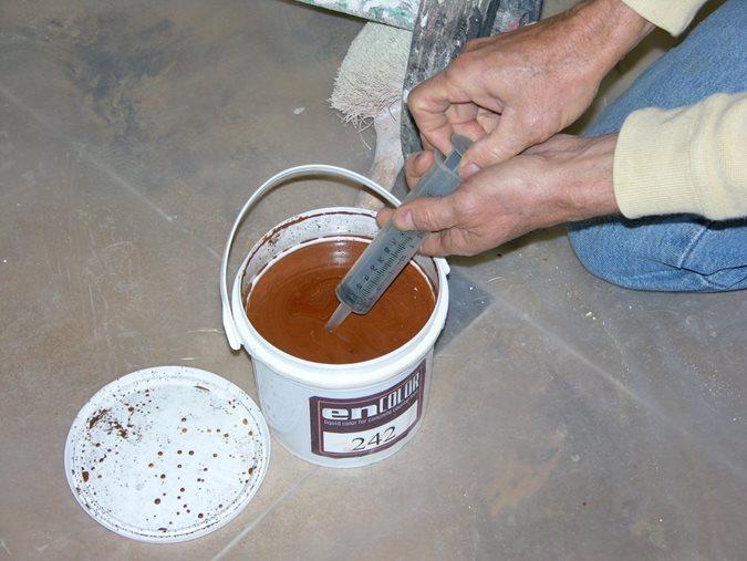 Liquid Pigment, Concrete Countertops Site Encounter Oklahoma City, OK