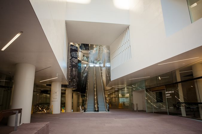 Lobby Floor, Floor Overlay Site Honestone Tuggerah, New South Wales