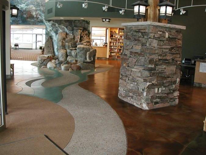 Lobby, Water Feature Site Colorado Hardscapes Denver, CO