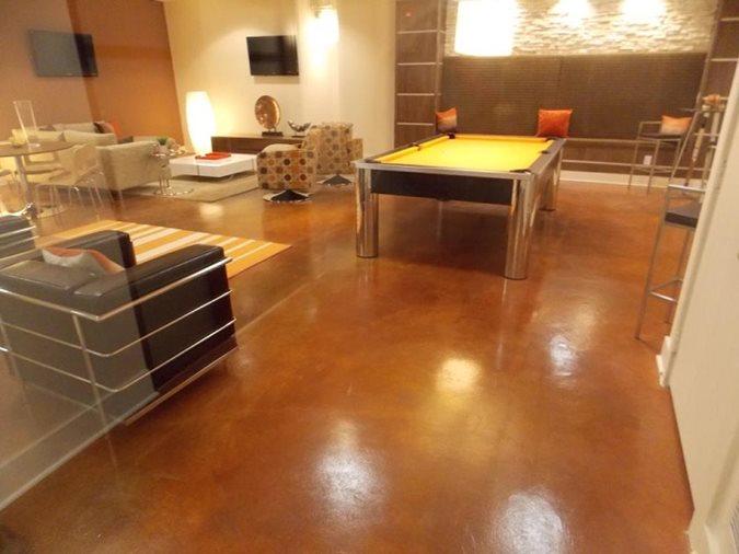 Lounge, Polished Floor Site Sun Surfaces of Orlando Ocoee, FL