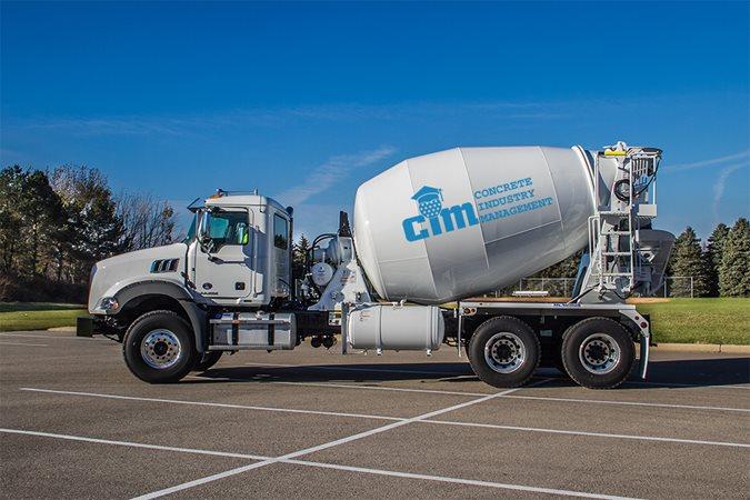 Mack Granite® Axle Back Truck Site ConcreteNetwork.com