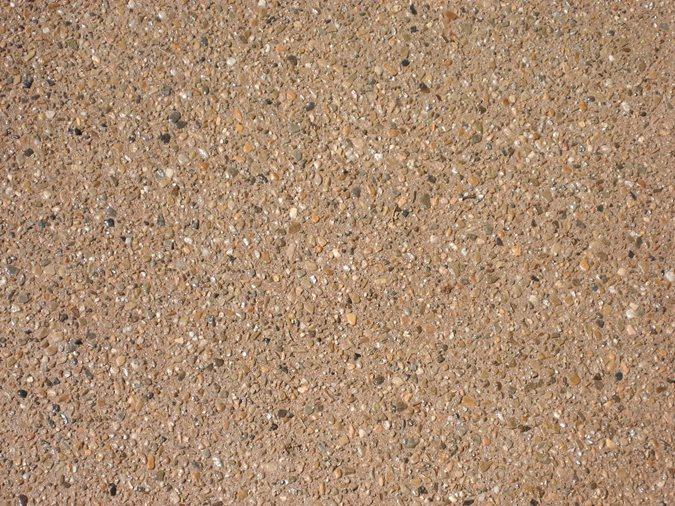Medium Exposed Aggregate Site Diehl Concrete Sedalia, CO