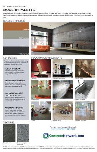 Modern Design Style Site ConcreteNetwork.com