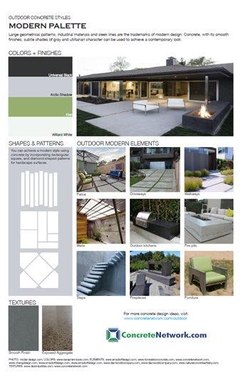 Modern Design Style Site ConcreteNetwork.com ,