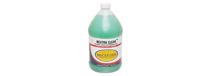 Neutra Clean, Concrete Cleaner Site Brickform Rialto, CA