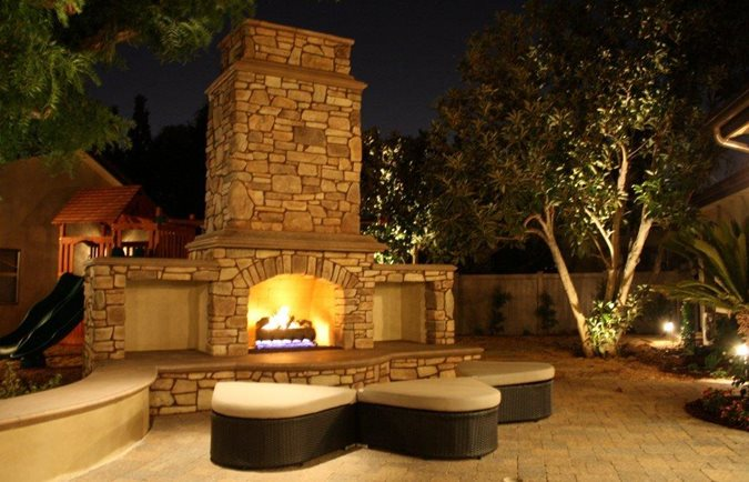 Outdoor Fireplace Safety Site The Green Scene Chatsworth, CA