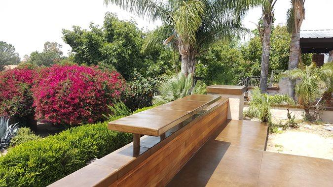 Outdoor Table, Concrete Table Site Envision Concrete Escondido, CA