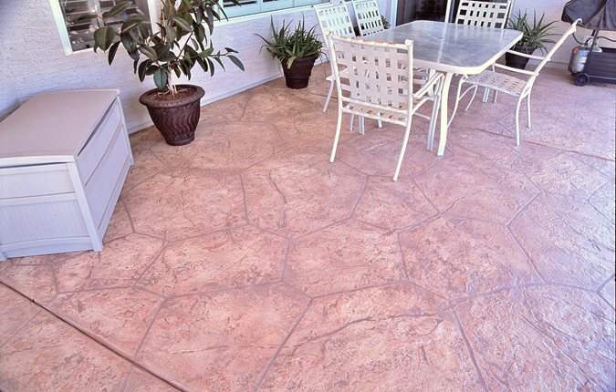 Patio, Smith Paints Overlay Site Artistic Polymers Inc. ,