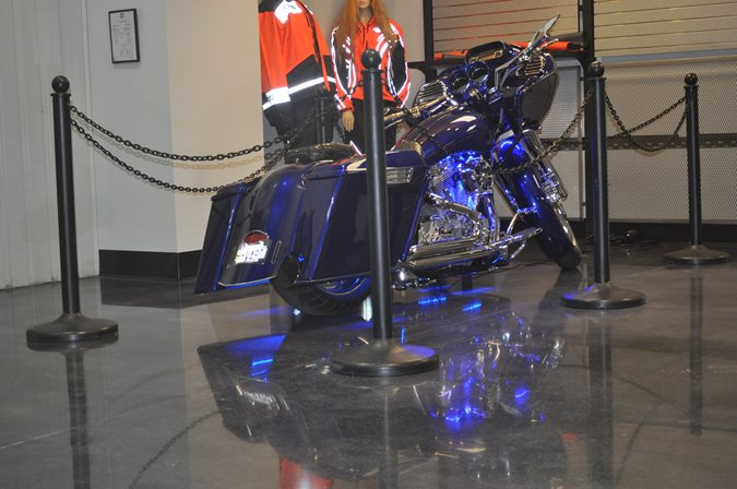 Polished Dealership Floor Site Dreamkrete Richmond, VA