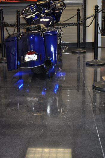 Polished Dealership Floor Site Dreamkrete Richmond, VA