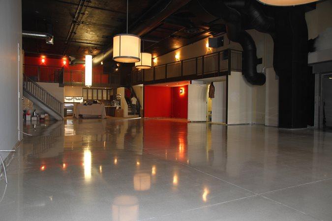 Polished, Floor, Gray Site Concrete Floors Polishing & Sealing Ltd Ottawa, ON