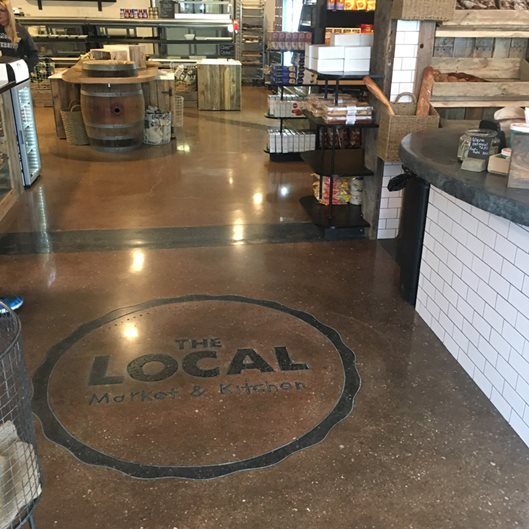 Polished Floor, Upscale Supermarket, Scofield Award Site Philadelphia Concrete Polishing Manahawkin, NJ