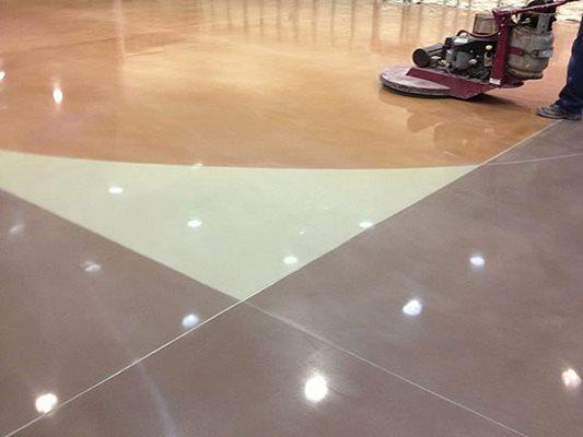 Polished, Stain, Buffed Site ProGreen Polished Concrete Prosper, TX