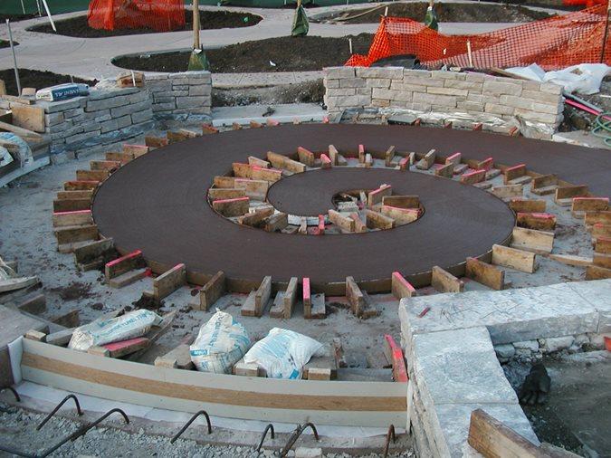 Poured Concrete Site  ,