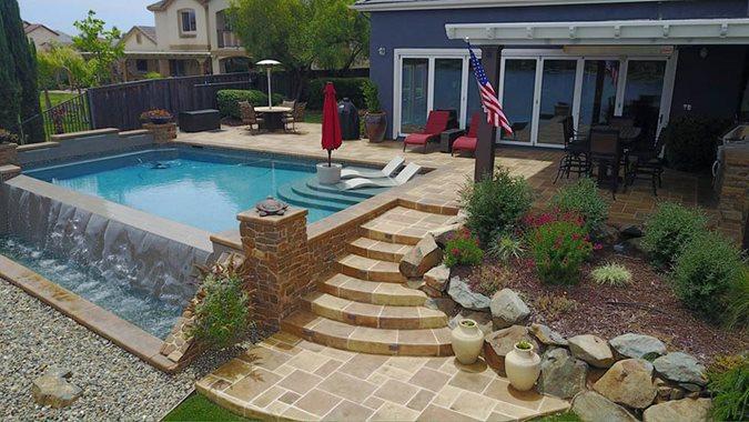 Residential Pool Deck Site Sundek Products USA, Inc. Arlington, TX