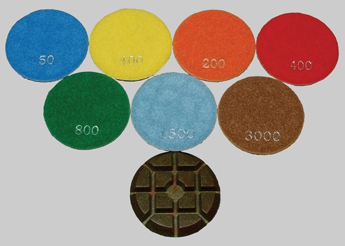 Resin Polishing Pads Site Terrco Inc. Watertown, SD