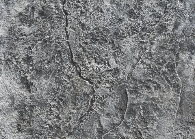 Rough Stone Texture, Stamped Concrete Site Brickform Rialto, CA