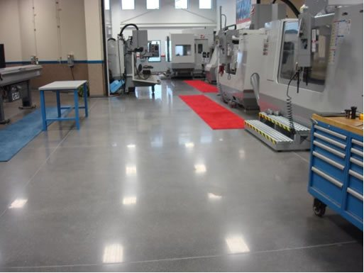 Shiny Floor Site Stephens and Smith Construction Lincoln, NE