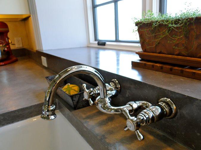 Sink Fixture Site Tellus 360 Design & Build Lancaster, PA