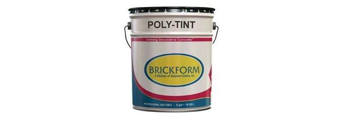 Solvent Sealer, Tinted Site Brickform Rialto, CA