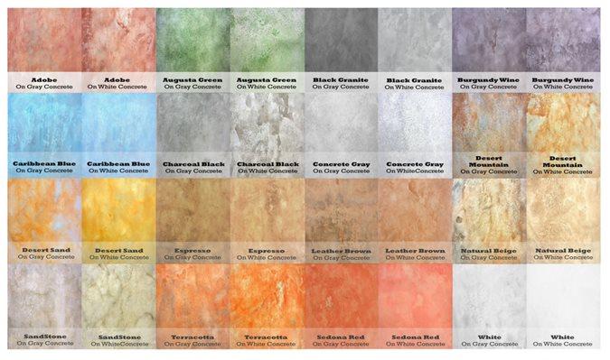 Soycrete Architectural Concrete Stains Site Eco Safety Products Phoenix, AZ