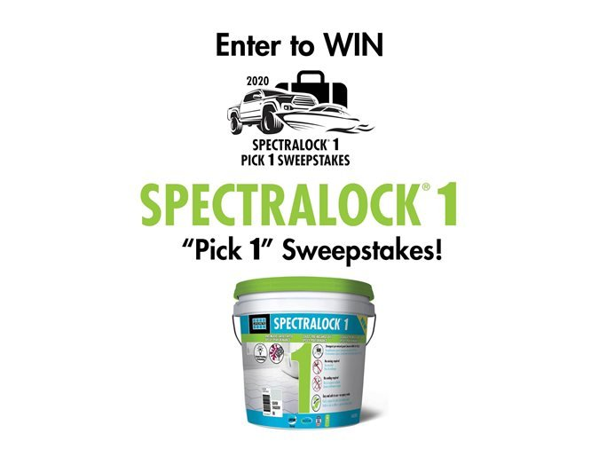 Sweepstakes Site LATICRETE® / SPARTACOTE™ Bethany, CT