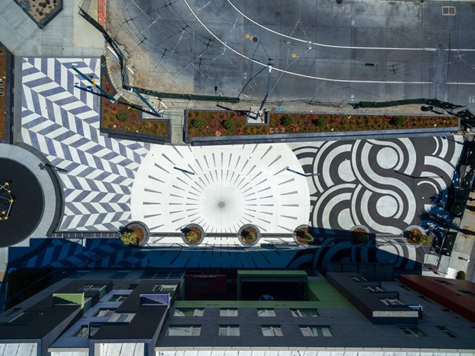 T.b.penick & Sons, Concrete Artistry, Unity Plaza Site T.B. Penick & Sons, Inc. San Diego, CA